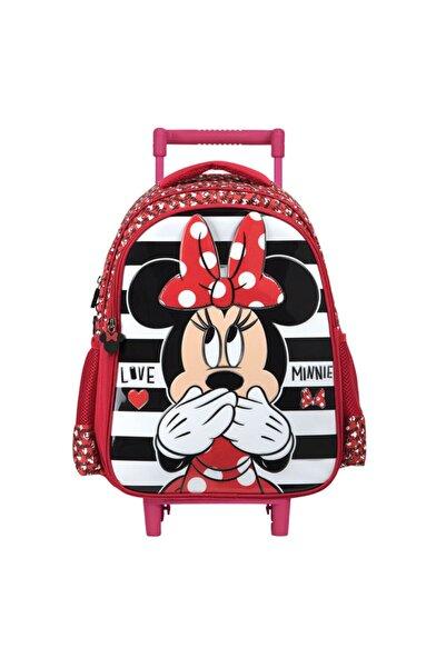 Minnie Mouse Signature Range Çekçekli Ilkokul Çantası 5205