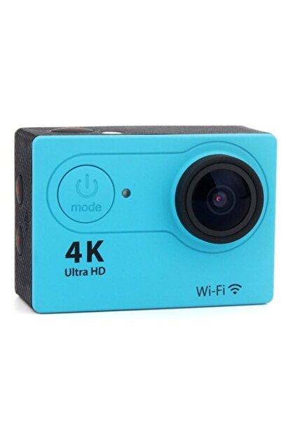 JUNGLEE Wifi 4k Ultra Hd Aksiyon Kamerası Mavi