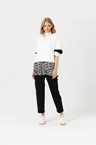 SEÇİL Kadın Siyah Pantolon 3052