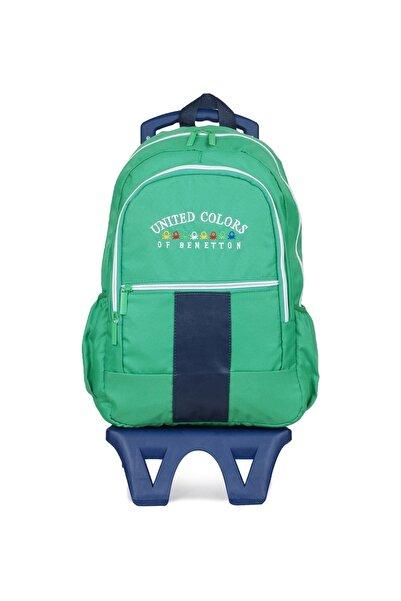 United Colors of Benetton Unisex Benetton Iki Bölmeli Tekerlekli Sırt Çantası 70060