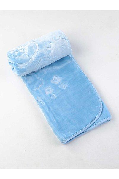 Modakids Erkek Bebek Mavi Battaniye 120x100 cm