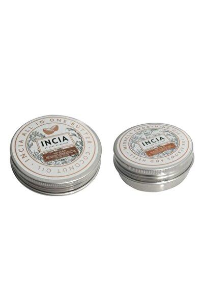 Incia Incıa Doğal Pürüzsüzleştirici Yağ 50 Ml+ Dogal Hindistan Cevizli Butter 50 Ml