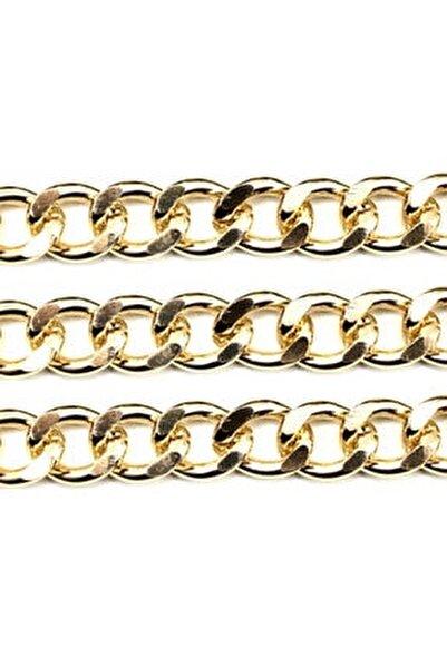 Alüminyum Çanta Ve Takı Zinciri 10 mm 1 mt Altın