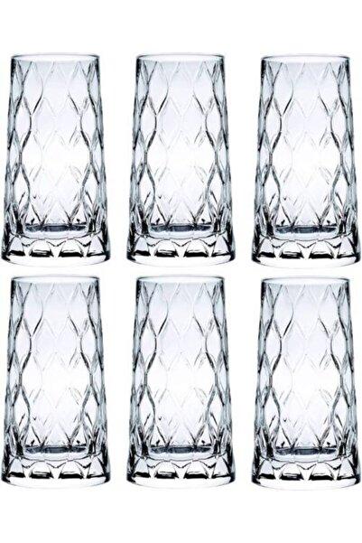 Paşabahçe 420855 Leafy Meşrubat Kokteyl Bardağı 345cc - 6 Adet