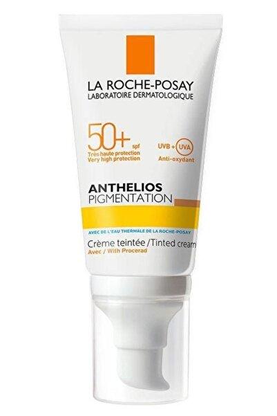 La Roche Posay La Roche-posay Anthelios Pigmentation Tinted Creamspf50+ 50ml   Lekeli Ciltler Için Güneş Kremi