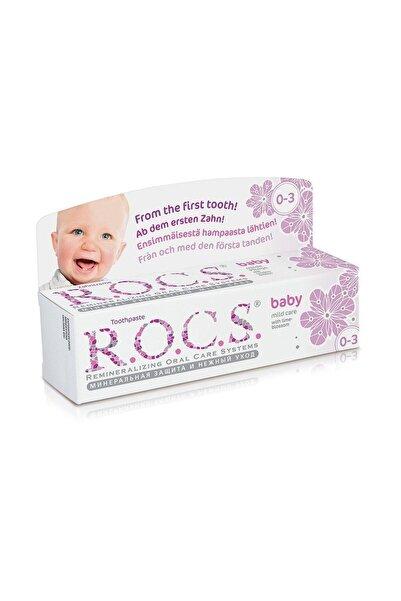 R.O.C.S. Baby 0-3 Yaş Diş Macunu Ihlamur Özlü 45g