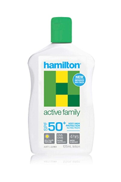 Hamilton Active Family Spf50 + Lotion 125 Ml