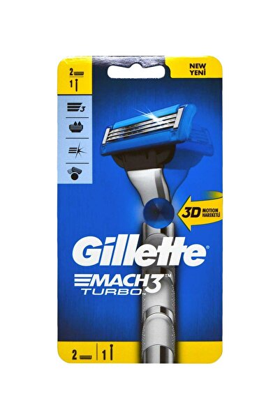Gillette Mach3 Turbo 2 Up 3d Motion Tıraş Makinesi