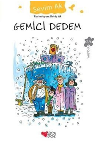 Can Yayınları Gemici Dedem   Sevim Ak   Can Çocuk Yayınları