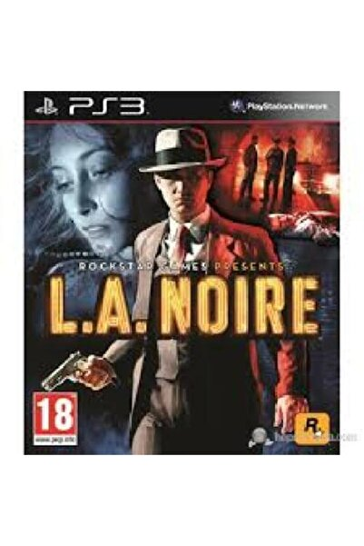 RockStar Games L.a. Noire Ps3 Oyun