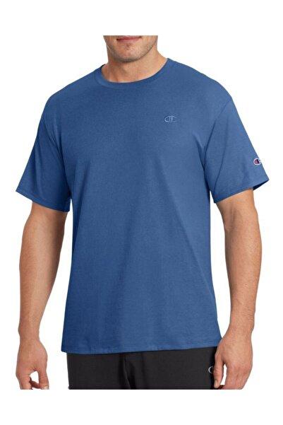 Champion Erkek Mavi Spor T-shirt