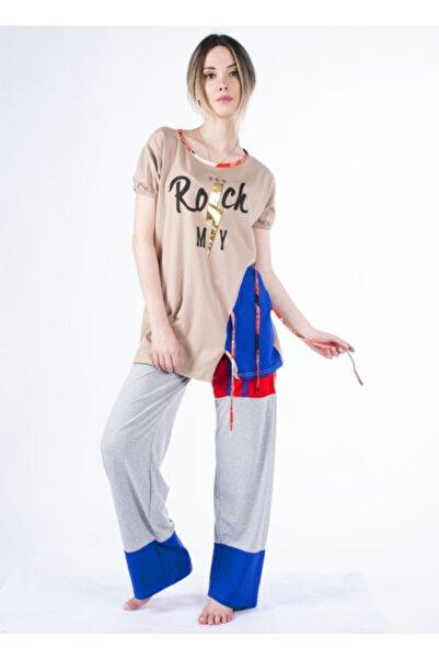 Vision Kadın Vizon Pijama Takımı