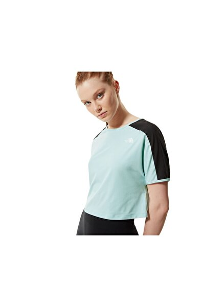 THE NORTH FACE Kadın Yeşil Günlük Tişört