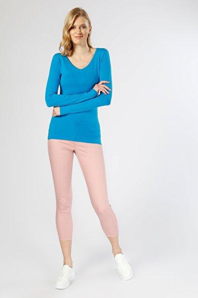 Vero Moda Kadın Pembe Pantolon 503286343