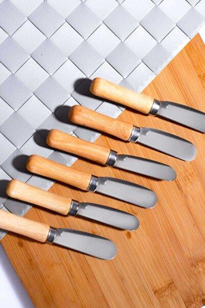 Kitchen Life Bambu Saplı 6'lı Tereyağ ve Peynir Bıçağı