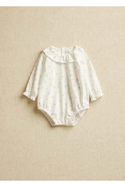 MANGO Baby Bebek Beyaz Gömlek
