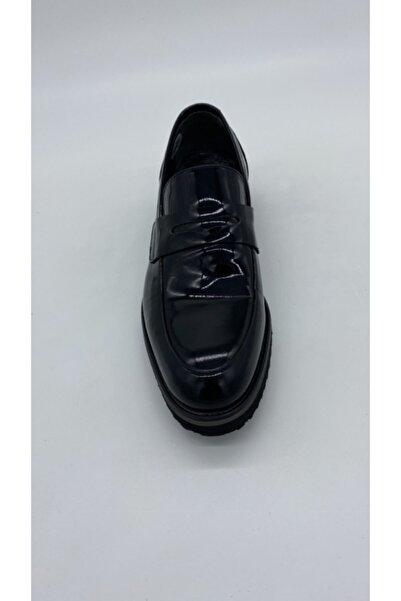 Fosco Erkek Sıyah Mr Klasık Eva Ayakkabı 7574
