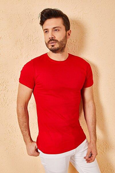 Zafoni Bisiklet Yaka Bay T-shirt