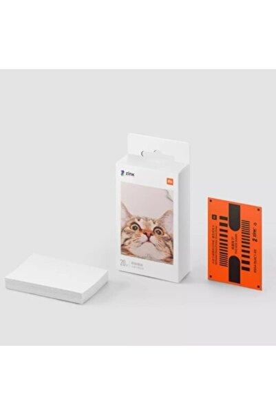 """Xiaomi Mi Portable Photo Printer 2x3"""" Yedek Kağıt 20 Adet"""