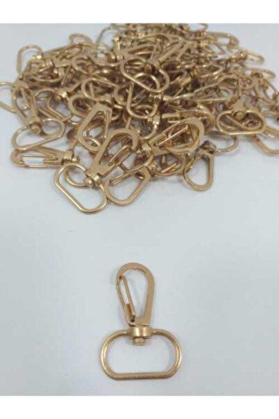 Smyrna Hobi 50'li Makrome Anahtarlık Halkası Gold