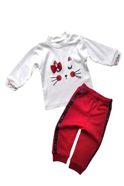 ŞiniMini Kız Bebek Kırmızı Mevsimlik 2li Takım