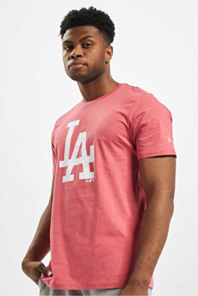 NEW ERA Erkek Pembe Los Angeles Dodgers Tshirt