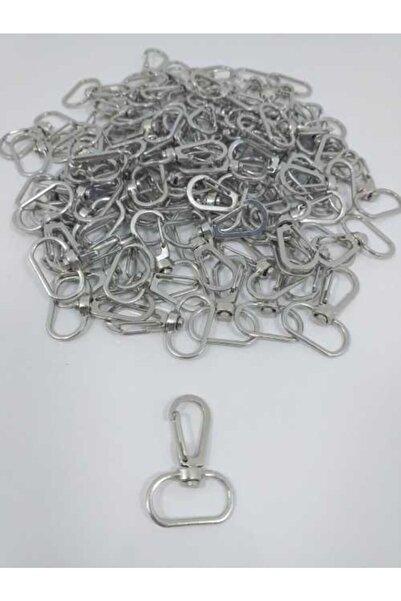Smyrna Hobi Gümüş 50'li Makrome Anahtarlık Halkası