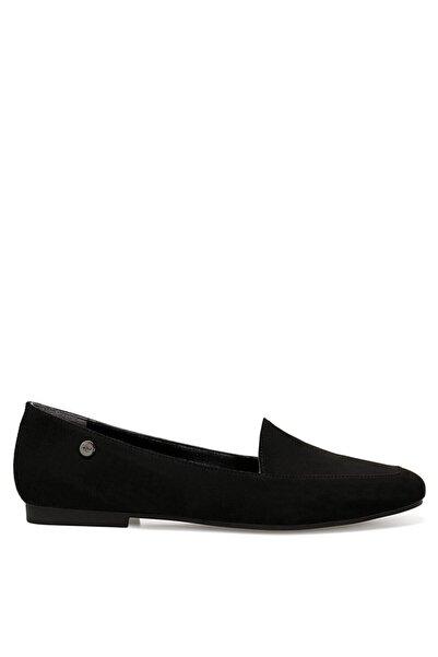 Nine West Melanıt Siyah Kadın Loafer Ayakkabı