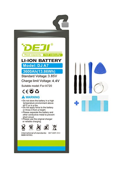 Deji Samsung Galaxy A7 A720 Batarya 2017 Mucize Batarya