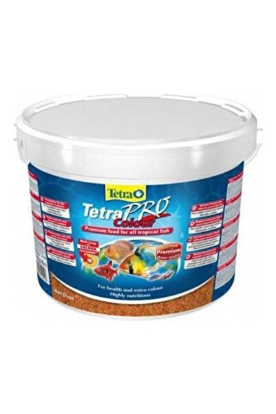 Tetra Pro Colour Cips Balık Yemi 100 Gr Kovadan Bölme