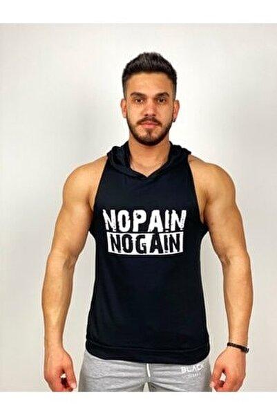 - Nopain Nogain Kapşonlu Fitness Atleti