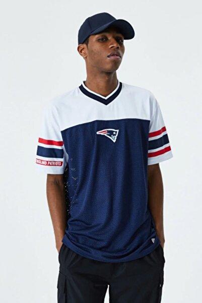 NEW ERA Erkek Lacivert New England Patriots Oversize T-shirt