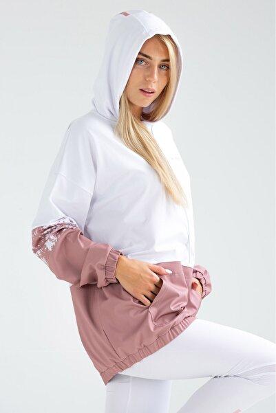 speedlife Kadın Loyal Beyaz Sweatshirt