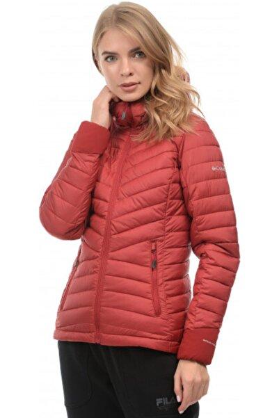 Columbia Kadın Kırmızı Wındgates Hooded Mont 1803861-607