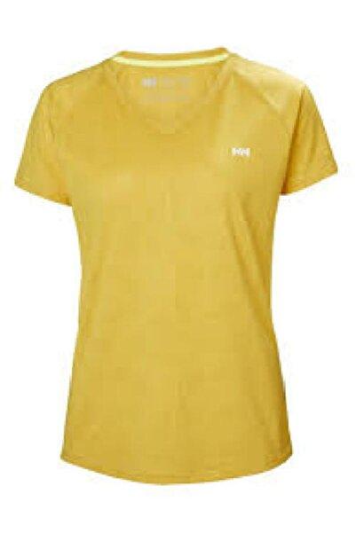 Helly Hansen Kadın Sarı Tshirt