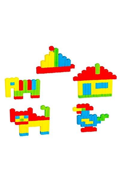 DEDE Özel Saklama Kabında Maxi Tik Tak 62 Parça Lego Puzzle