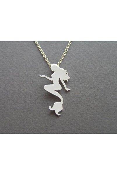 Takı Store Küçük Deniz Kızı Ariel Gümüş Kolye