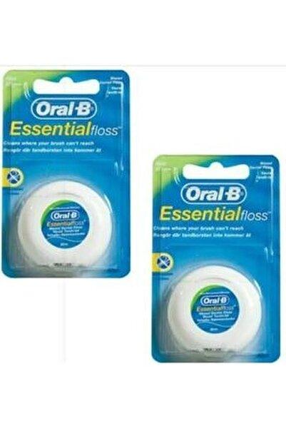 Essential Floss Diş İpi 50m - 2 Adet