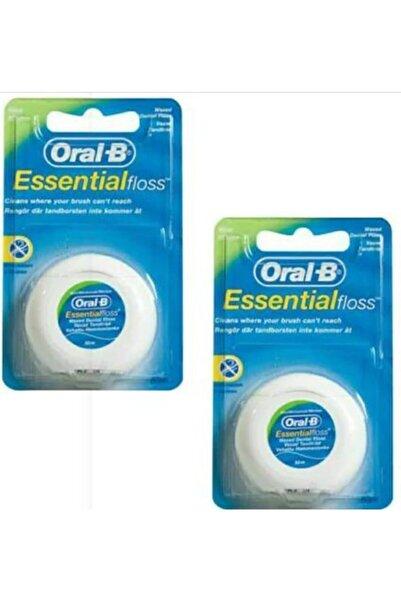 Oral-B Essential Floss Diş İpi 50m - 2 Adet