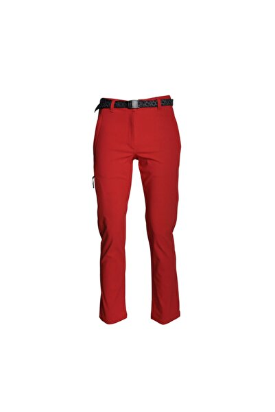 Freecamp Unisex Kırmızı Trekking Eiger Spor Pantolon