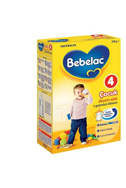 Bebelac 4 Devam Sütü 250 Gr