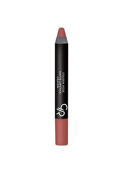 Golden Rose Mat Kalem Ruj - Matte Lipstick Crayon No: 21 8691190903213