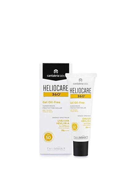 Heliocare 360º Spf 50 Fluido Gel Oil Free 50ml 84700017241370
