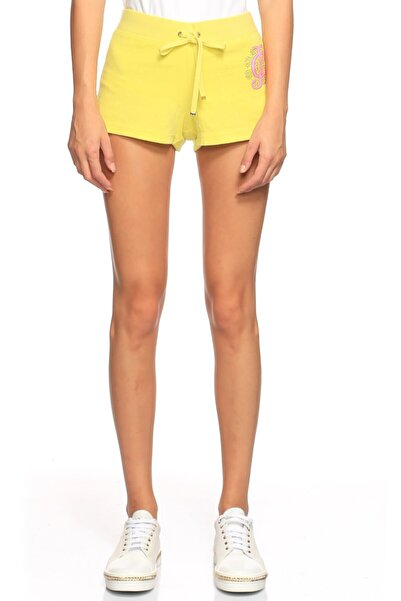 Juicy Couture Kadın Sarı Şort
