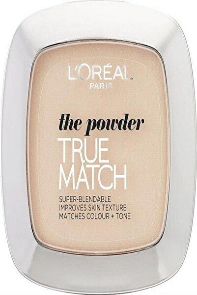 L'Oreal Paris L'oréal Paris True Match Pudra W5 Golden Sand