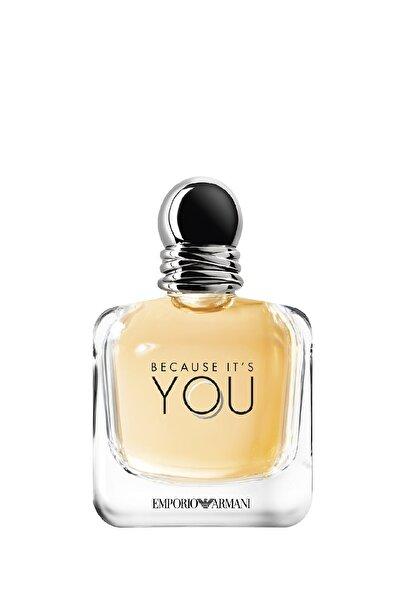 Emporio Armani Because It's You Edp 100 ml Kadın Parfümü 3605522041486