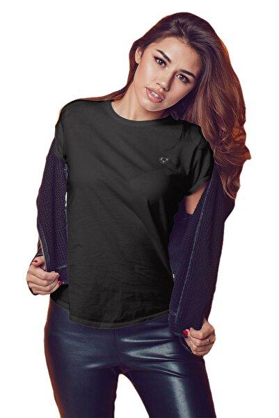 Koala Kadın Siyah T-shirt BKT002SBASIC