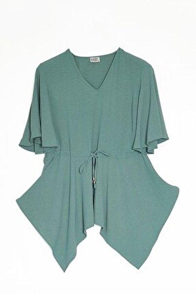 Kadın Mint Yeşil Bluz