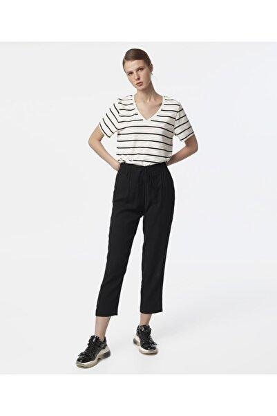 MISS IPEKYOL Kadın Siyah Bağcıklı Pantolon