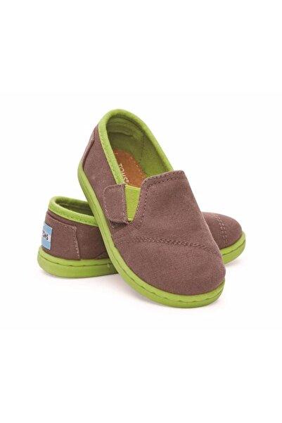 Toms Unisex Çocuk Kahverengi  Yeşil Ayakkabı